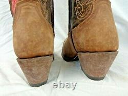14 Inch Shaft Junk Gypsy by Lane Ladies Cowboy Boots JG0054A Charmer $320 Tooled