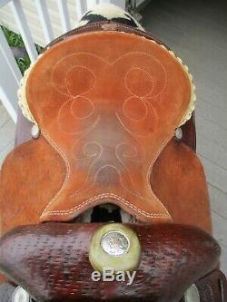 14'' Santa Fe western barrel saddle FQHB
