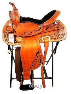 15 16 Western Show Pleasure Trail Racing Horse Western Barrel Saddle Tack Set