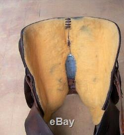 15.5 Quality Used Western Circle Y Roping Saddle also good for Pleasure & Trail