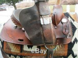 15 #810 American Saddlery Circle A Ekto One Western Barrel Saddle Fqh Bars