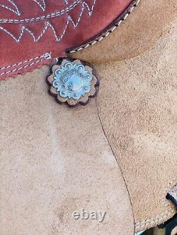 15 Royal King Barrel Saddle- Western Saddle, Deep Seat