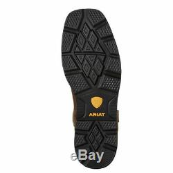 Ariat 10020059 Groundbreaker Square Toe EH Non Slip Oil Resistant Cowboy Boots