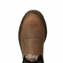 Ariat 10020064 Groundbreaker 10 Pull On Non-Slip EH Rated Two Tone Work Boots