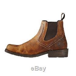 Ariat Men's Midtown Rambler Barn Square Toe Chelsea Boots 10019868