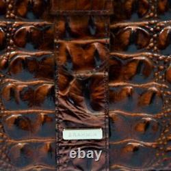 Authentic Brahmin Faith Pecan Melbourne Crossbody Shoulder Bag NWT