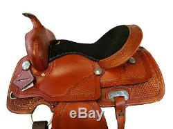 Barrel Racing Trail Western Saddle 15 16 Rodeo Show Pleasure Trail Horse Tack