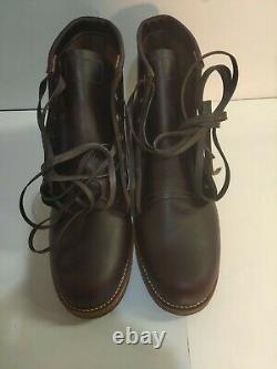 CHIPPEWA ALDRICH CORDOVAN BOOTS 1901M25 US. Size 9 D (x017)