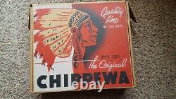 Chippewa Leather Brown Boots 1901M29 Mens CrazyHorse SIZE 8 Brand New