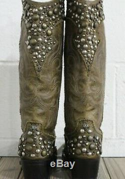 Double D Ranch by Lane Boots Peralta Women's Western Cowgirl Boots Size 6.5