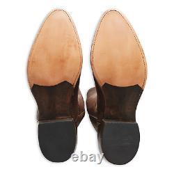 Double Ralph Lauren RRL Mens USA Leather Plainview Cactus Cowboy Boot Boots 11