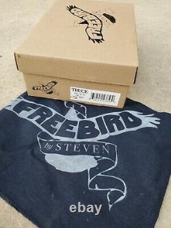 FREEBIRD BY STEVEN Truce black brown SIZE 9 western New in box