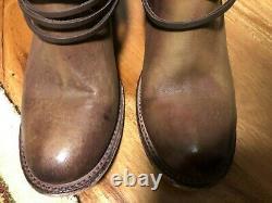 Freebird By Steven Coal Women Brown Leather Boots Size 9