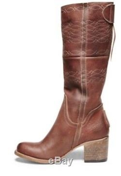 Freebird By Steven Oxford Rust Western Embroidered Boots Size 8 Nib Msrp $295.0