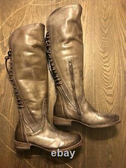 Freebird By Steven STAG BOOT NWOB Size 7 MSRP $395 COGNAC