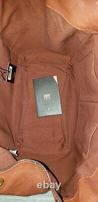 Frye Madison Shoulder Hobo Bag In Cognac NWT $428