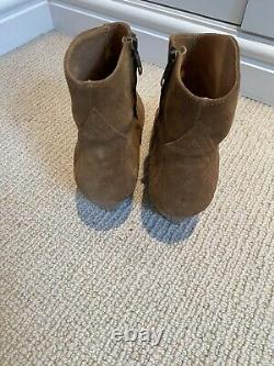 Isabel marant Dacken Suede Boots 39