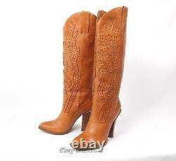 Jessica Simpson Abilene Cowboy Cowgirl Boots Wmn's 10B Excellent Alan Western