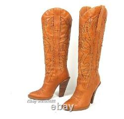 Jessica Simpson Alan Cowboy Cowgirl Boots Women's 7B Excellent Cond. Western