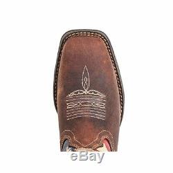 Ladies Lady Rebel Durango Cowboy Western Boots! Rd4414! Adorn With American Flag
