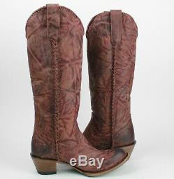 Lane Boots Plain Jane Women's Western Cowgirl Boots Size 8.5
