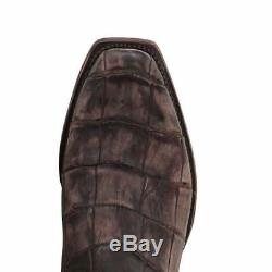 Lucchese Men's Handmade Burke American Alligator Western Boots M3195.74