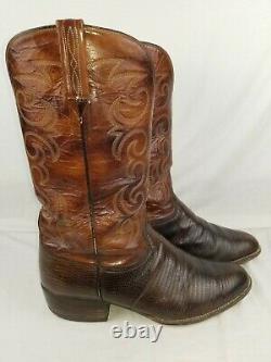 Lucchese San Antonio 11 E Lizard Cowboy Boots