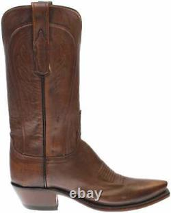 Lucchese Willa Mad Dog Goat Snip Toe Womens Dress Boots Knee High Low Heel