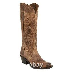 Lucchese Women's Tan Corded Triad Boot M5109-74