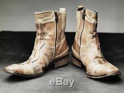 Mark Nason CORKMAN PATCHWORK Rock Boots US10 Distressed TAN (BN)