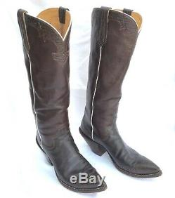 Men's Tall Custom Handmade Paul Bond Western Cowboy Boots 12.5 D