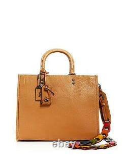 NWT IN PLASTIC COACH1941 Glovetanned Pebble Leather Rogue Link Strap Saddle $950