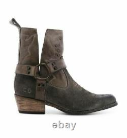 New Bed Stu $275 Taupe MD Canada Leather Boots Sz 10