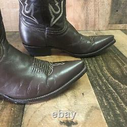 Old Gringo Moon Stars Leather Inlay Cowboy Boots Womens 10b