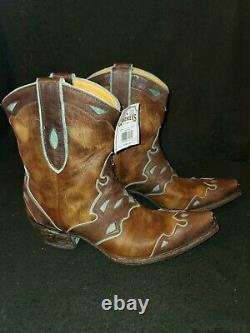 Old Gringo Womans Short Saddle Boot Size 7b