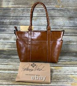 Patricia Nash Tooled Leather Talloria Shoulder Tote Florence NWT