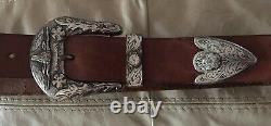 Ralph Lauren Polo, Belt, Western Buckle, Excellent Condition, Mens 32