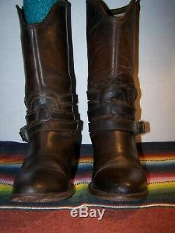 Rare Freebird By Steven Brown Leather Boots Size 9