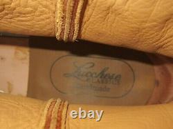 Rare Men's Lucchese Elephant Boots Handmade 11.5 L0112 GC9162 Full Vamp roper