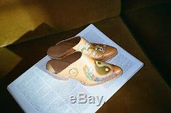 Rare & Sold Out! NEW Brother Vellies Doodle Mules Boots Mermaid
