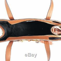 Rebecca Minkoff Florence HF36DFNT64 Large Saddle Leather Women's Handbag New