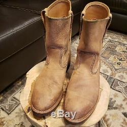 Red Wing 8188 10.5e Pecos Roughout Excellent Condition