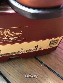 Rm williams craftman tan yearling size 9 G