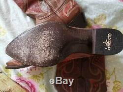 Stunning Authentic Old Gringo Embroidered Women's Cowboy Boots UK 8 EU 41 USA 10