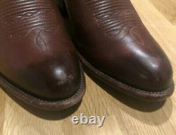Tecovas The Cartwright Cowboy Boots Bourbon Calf Size 10 D