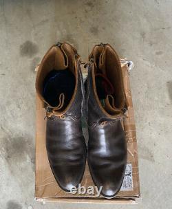 The Viridi Anne Tornado Zip Boots (Rare)