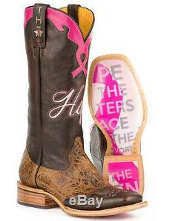 Tin Haul Women's Hope Staying Strong Cowgirl Western Boots 14-021-0007-1222BR