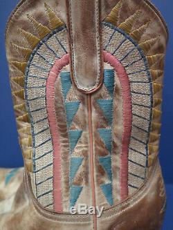 Vintage Old Gringo Yippee Ki Yay Ladies Western Cowboy Boots