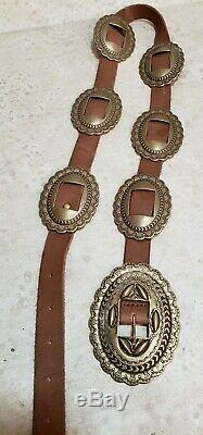 Vintage Ralph Lauren Western Concho belt size Small