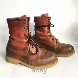 Vintage Red Wing Irish Setter Boots Size 8D / UK 7